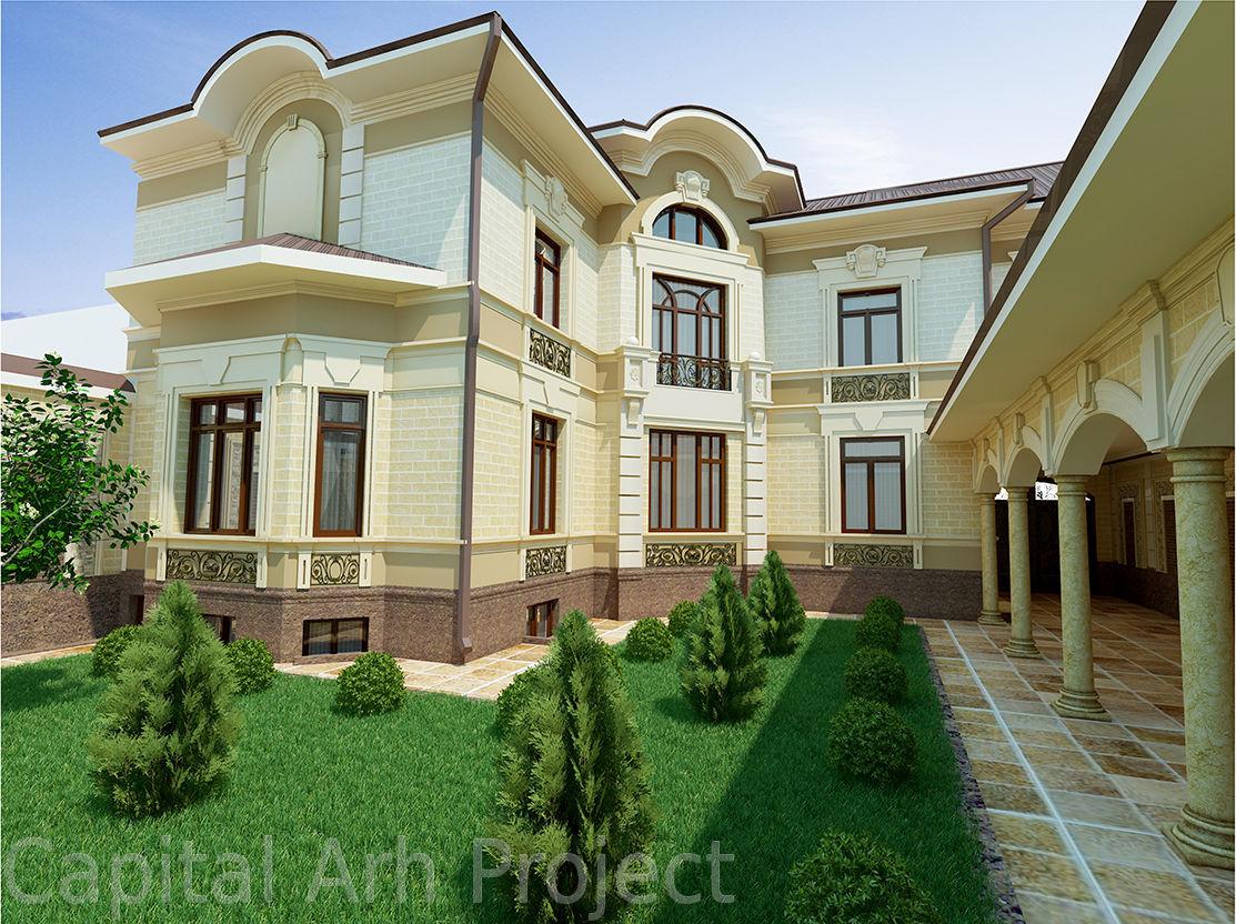 новые дома в узбекистане фото